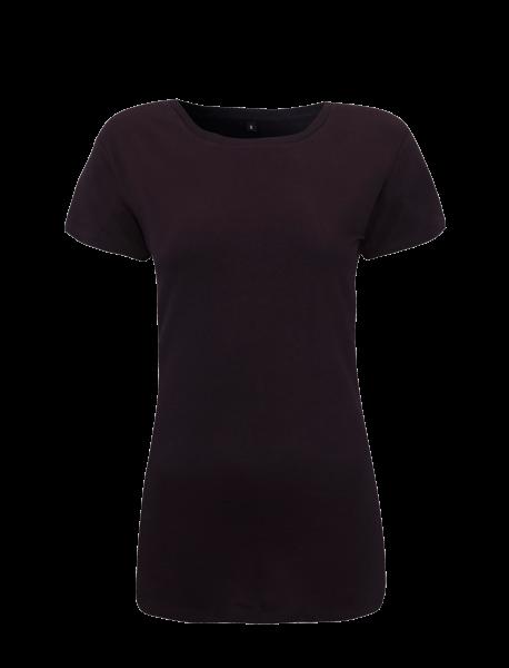 Damen T-Shirt kurzarm Continental Clothing ROUNDED NECK N09 Navy Blue_1