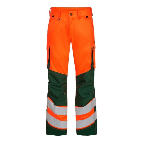 Herren Sicherheitshose FE Engel Safety 2545-319 Orange/Gruen 101