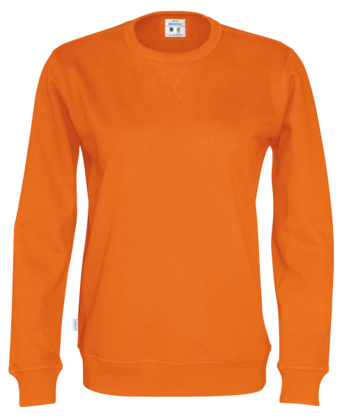 Herren Pullover Cottover Crew Neck 141003 Orange 290