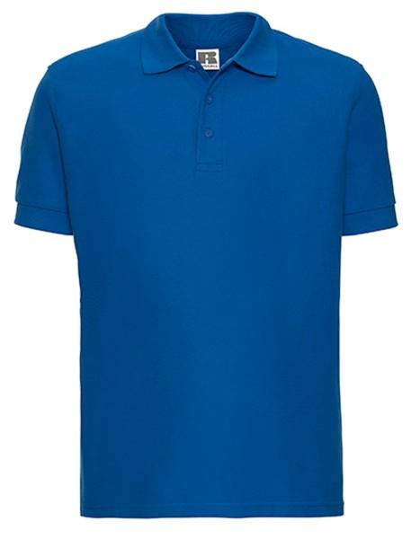 Herren Poloshirt kurzarm Russell Ultimate Cotton R-577M-0 Azure Blue