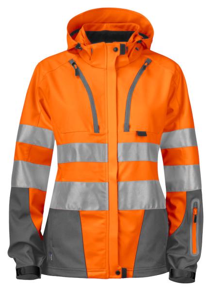 Sicherheitsjacke ProJob 6423 funktionell EN ISO 20471 Klasse 3 /2 646423 Orange/Grau 17