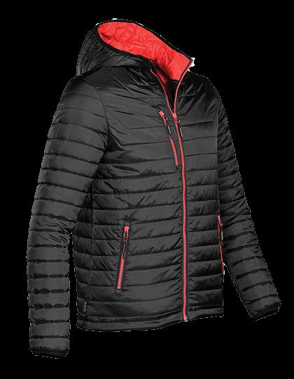 Herren Steppjacke Stormtech Gravity Thermal Jacket AFP-1 Black True-Red_1