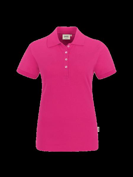 Damen Poloshirt kurzarm Hakro Stretch 222 magenta 122_1