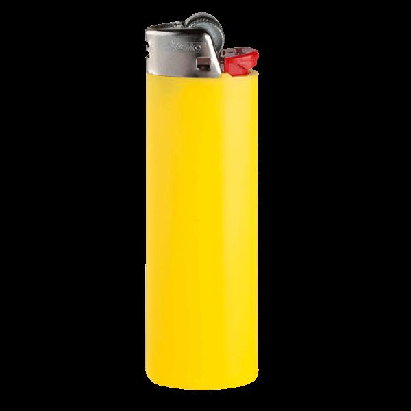 Feuerzeug BiC 2320 J26 Lighter hellgelb 1-/0-farbig bedruckt_1