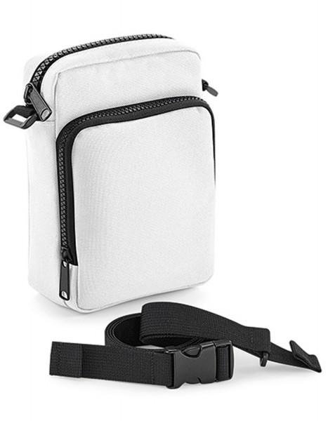 Freizeittasche BagBase Modulr™ 1 Litre Multipocket BG241 White
