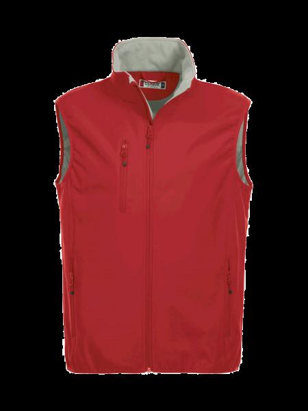 Herren Weste Clique Basic Softshell Vest 020911 Rot 35_1