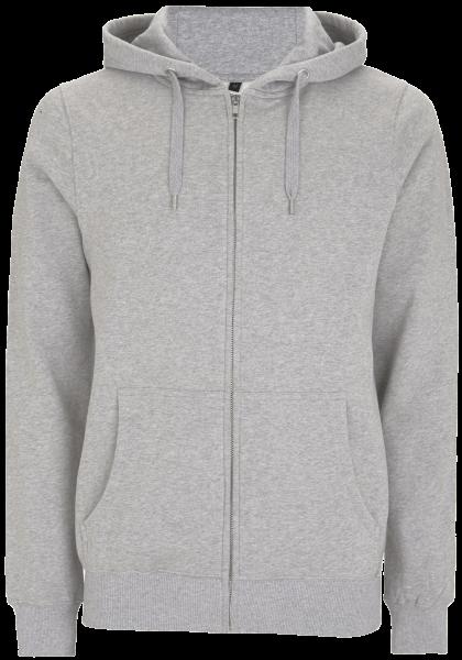 Herren Kapuzenjacke Continental Clothing EARTHPOSITIVE® ZIP HOODY EP51Z Melange Grey_1