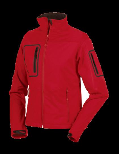 Damen Softshelljacke Russell Sports Shell 5000 Jacket R-520F-0 Classic Red_1