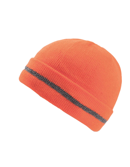 Muetze Atlantis Workout Beanie WROT Orange Fluo_1