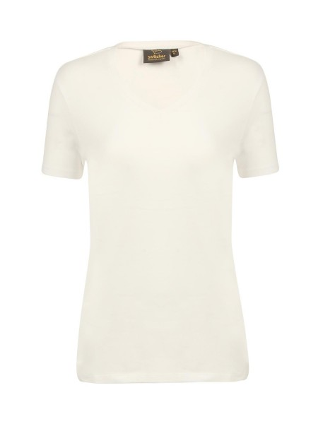 Damen T-Shirt kurzarm Switcher Giorgia 2276 BLANC 1