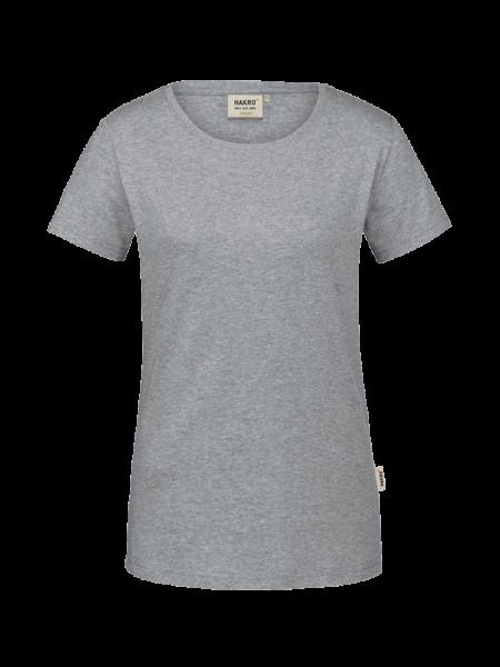 Damen T-Shirt kurzarm Hakro GOTS-Organic 171 grau meliert 015_1