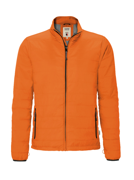 Herren Loft-Jacke Hakro Barrie 851 orange 027_1