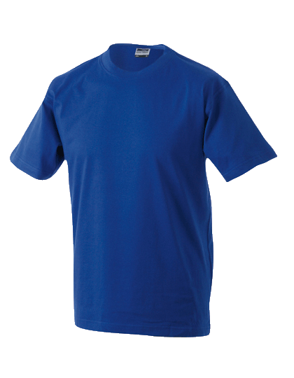 Herren T-Shirt kurzarm James&Nicholson Round-T Medium JN 001 Dark Royal_1
