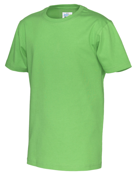 Kinder T-Shirt kurzarm Cottover Jersey SS 141023 Green 645
