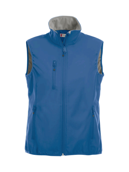 Damen Weste Clique Basic Softshell Vest Ladies 020916 Royalblau 55_1