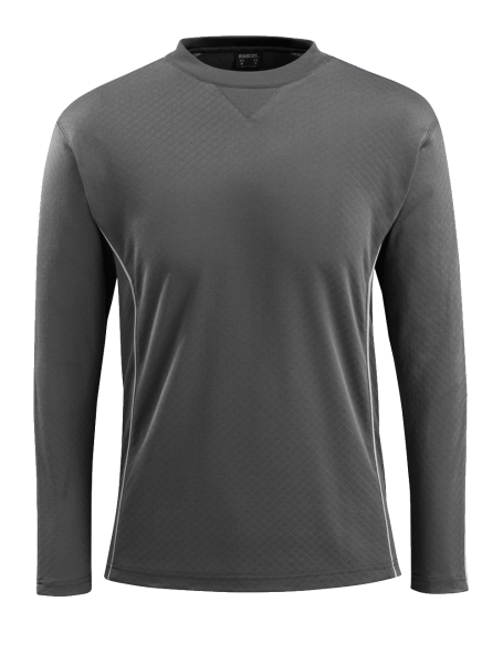 Herren T-shirt Mascot Montilla 50128-933 dunkelanthrazit/hi-visrot 18222_1