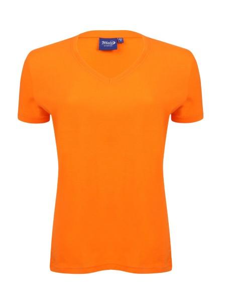 Damen T-Shirt kurzarm Whale Whale 2224 FLAME 182