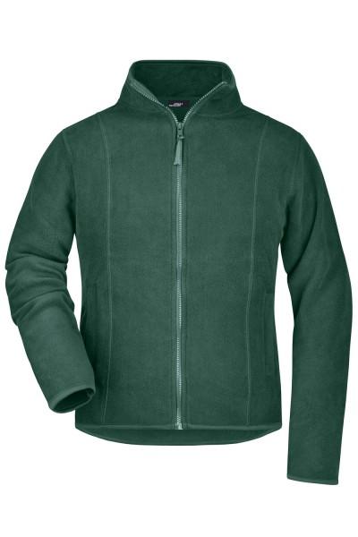 Fleecejacke James&Nicholson Girly Microfleece Jacket JN049 dark-green