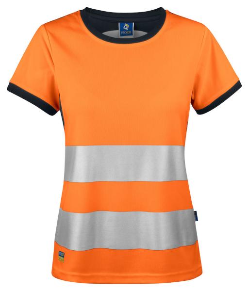 Sicherheits T-Shirt kurzarm ProJob 6012 EN ISO 20471 Klasse 2 646012 Orange/Schwarz 1799