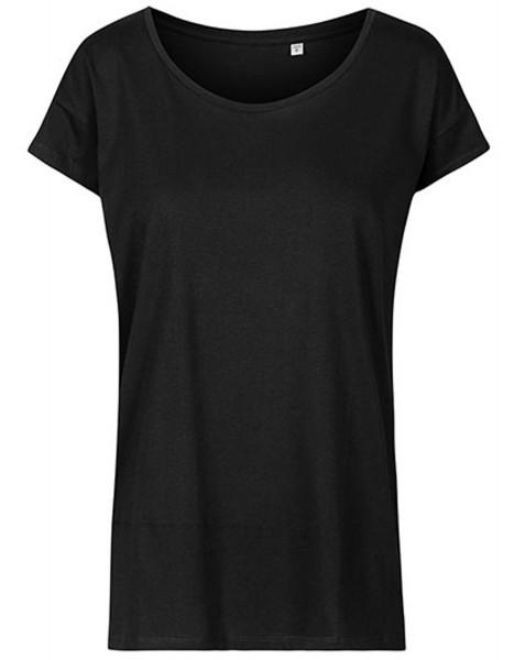 Damen T-Shirt kurzarm Promodoro Oversized 1515 Black
