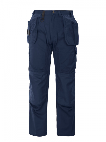Arbeitshose ProJob 5512 mit Knieverstaerkung und Haengetaschen 645512 Marineblau 58