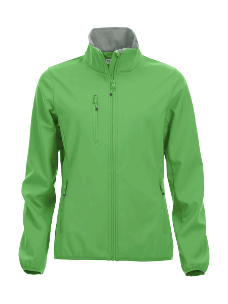 Damen Jacke Clique Basic Softshell Jacket Ladies 020915 Apfelgruen 605_1