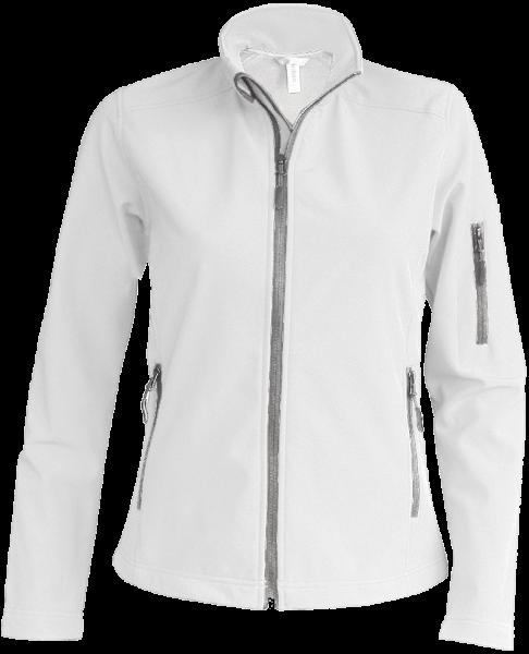 Damen Softshelljacke Kariban K400 White_1