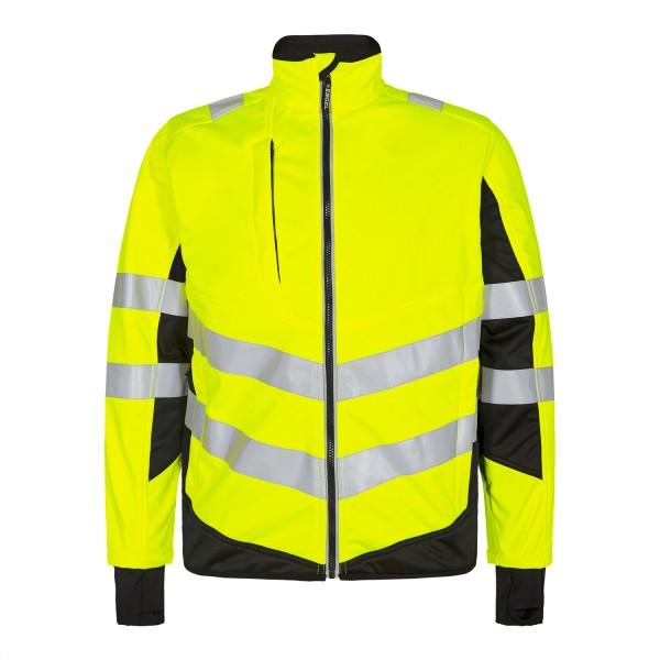 Herren Sicherheits-Softshelljacke FE Engel Safety 1158-237 Gelb/Schwarz 3820