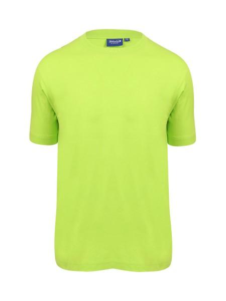 Herren T-Shirt kurzarm Whale Whale 2004 LIMETTE 364