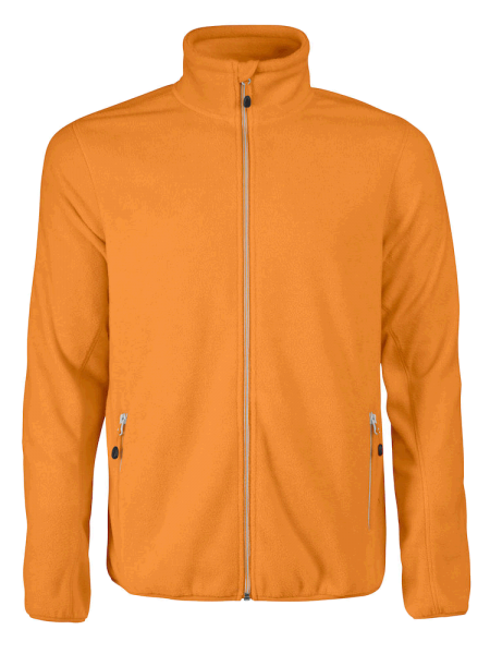 Herren Fleecejacke Printer Rocket 2261502 Orange 305_1