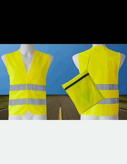 Unisex Sicherheitsweste Korntex KfZ Duo Pack EN ISO 20471 KXDP Signal Yellow_1