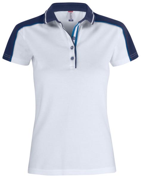 Poloshirt kurzarm Clique Pittsford 028271 Weiss 00