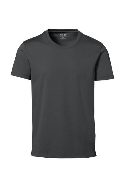 Herren T-Shirt kurzarm Hakro Cotton Tec 269 anthrazit 028