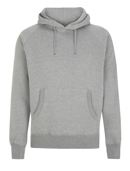Herren Kapuzenpullover Continental Clothing HOODY N51P Light Heather_1