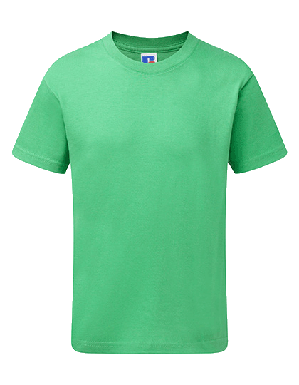 Kinder T-Shirt kurzarm Russell Slim R-155B-0 Apple_1