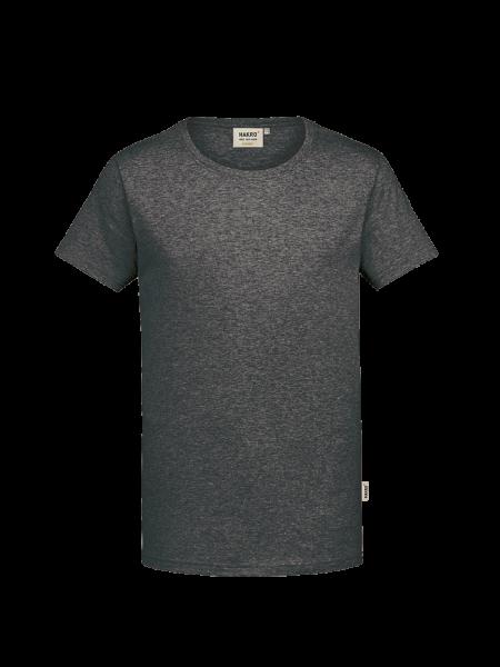 Herren T-Shirt kurzarm Hakro GOTS-Organic 271 anthrazit meliert 328_1