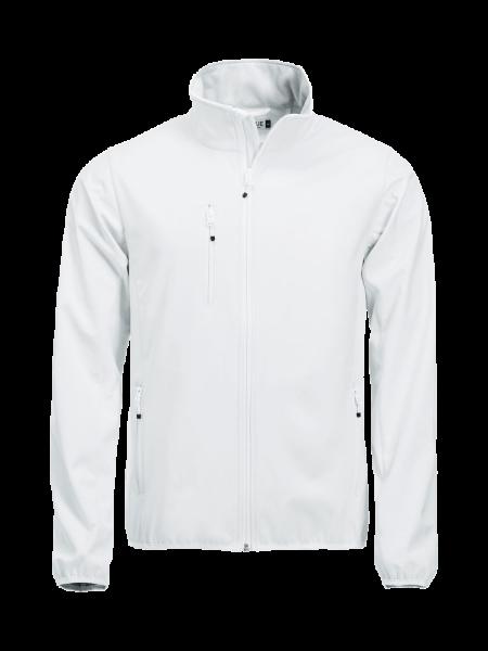 Herren Jacke Clique Basic Softshell Jacket 020910 Weiss 00_1