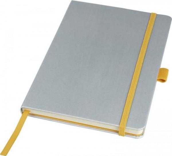 Notizbuch Melya 107081 silber 01