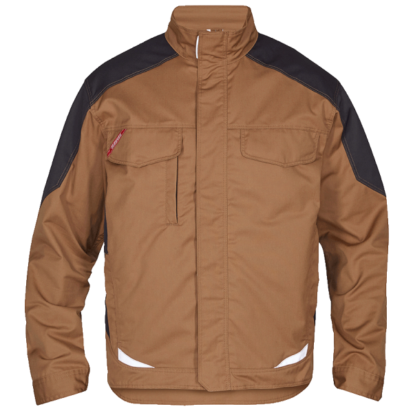 Herren Arbeitsjacke FE Engel Galaxy Light 1290-880 Toffee Brown/Anthrazit Grau 4179_1