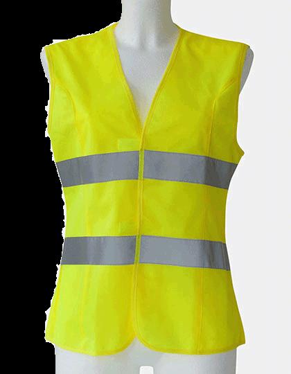 Damen Sicherheitsweste Korntex EN ISO 20471 KXF Signal Yellow_1