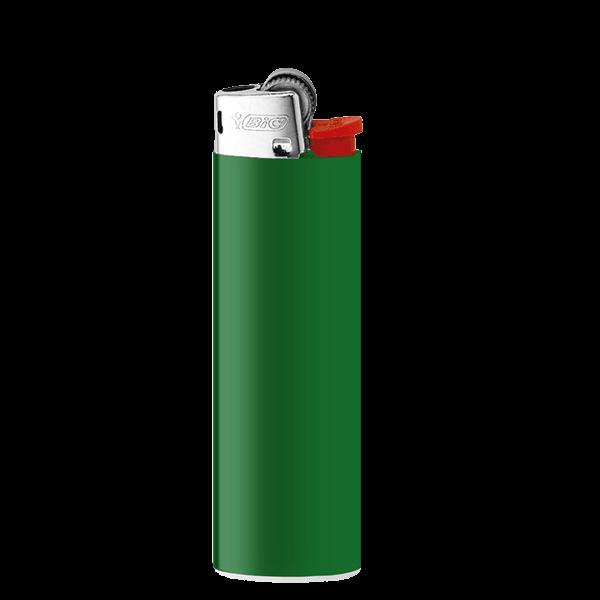 Feuerzeug BiC 2340 J23 Lighter gruen 1-/0-farbig bedruckt_1