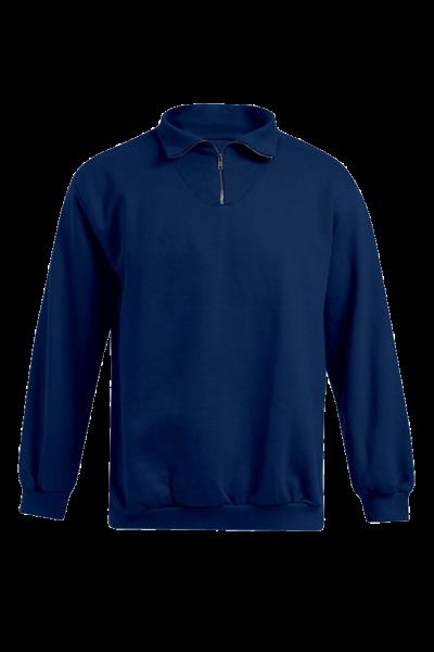 Herren Pullover mit Zipper Promodoro Troyer Sweater 5050 Navy