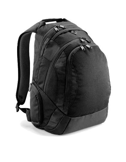 Rucksack fuer Laptop Quadra Vessel™ Laptop Backpack QD905 Black_1