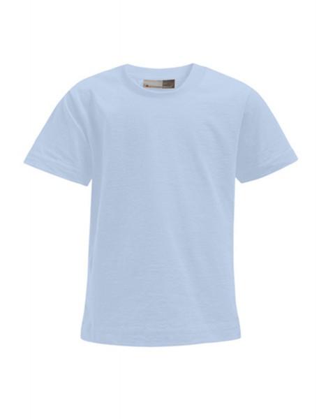 Kinder T-Shirt kurzarm Promodoro Premium-T 399 Baby Blue