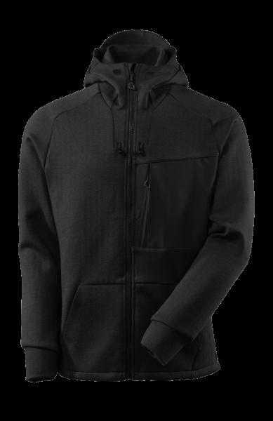 Herren Kapuzensweatshirt Mascot Advanced 17384-319 Schwarz-meliert/Schwarz 09_1