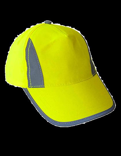 Cap Korntex Hi-Viz-, Fluo-, Reflective-Cap KXPCAP Signal Yellow_1
