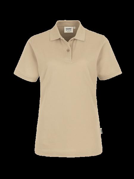 Damen Poloshirt kurzarm Hakro Top 224 sand 007_1