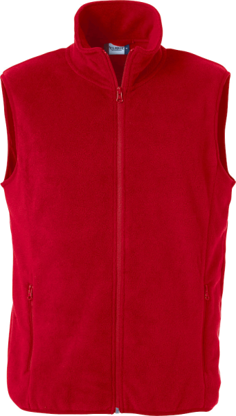 Herren Fleeceweste Clique Basic Polar Fleece Vest 023902 Rot 35_1