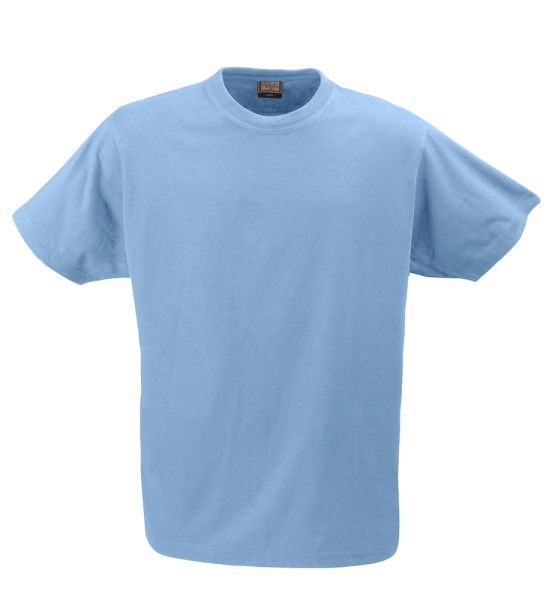 Unisex T-Shirt kurzarm Printer HEAVY T-SHIRT RSX 2264020 Himmelblau 516_1