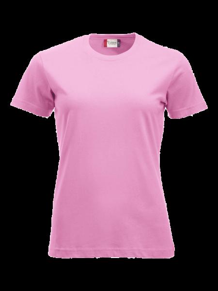 Damen T-Shirt kurzarm Clique New Classic-T Ladies 029361 Hellpink 250_1